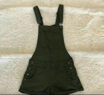 #BAPAU Cotton On Overall / jumpsuit cotton on / army jumpsuit