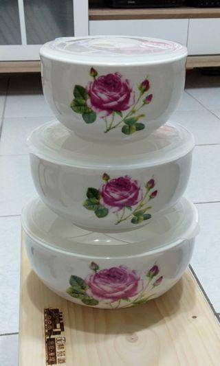 🚚 陶瓷保鮮碗