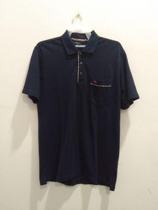 Polo shirt Burberry pocket tee design