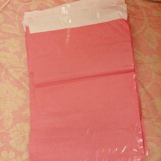 粉色破壞袋 10張一組 寄件袋