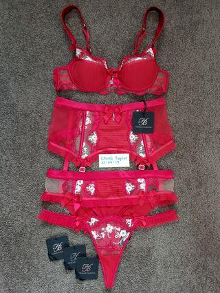 Honey Birdette Mimi Red