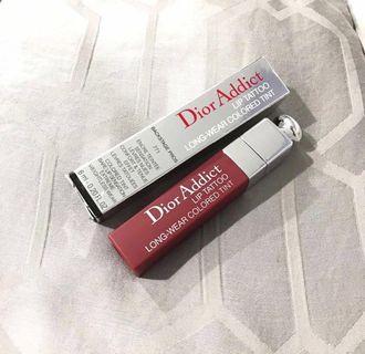 Dior lip tattoo shade no. 771 natural berry