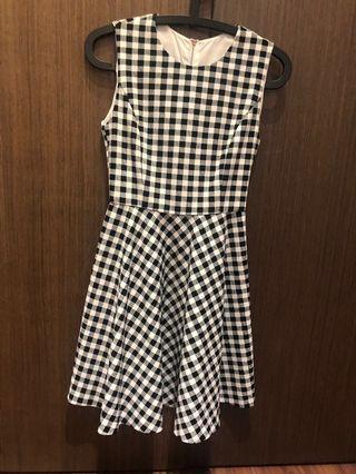Gingham & polka dot dress for Sale Or Trade