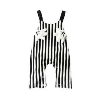 🚚 Baby Unisex Mickey Stripe Jumper