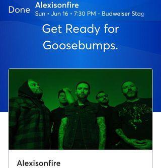 Alexisonfire tickets June 16th