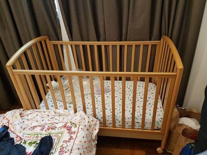 Free to good home baby cot