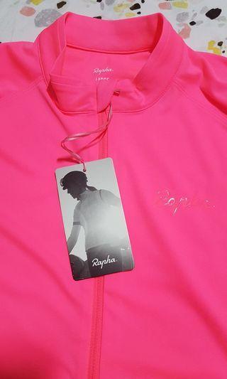 Rapha Women's Core Jersey (Hi-Vis Pink)