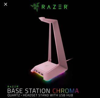 Razer base station chroma(quartz)