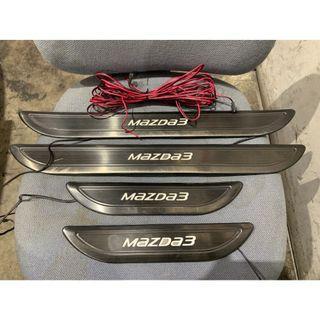 Sell Mazda 3 SkyActiv BM model door scuff plate