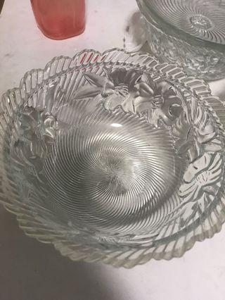 Glass ware/ bowl/container