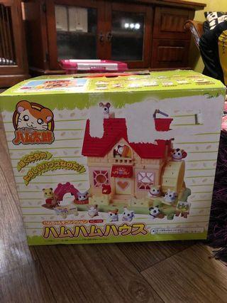 Hamtaro house set