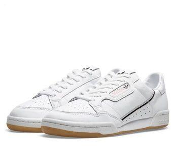 adidas continental 80 white & pink