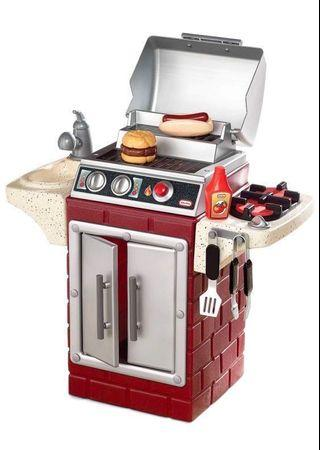 Little Tikes Kitchen - Barbeque Grill Set (Pretend Play)