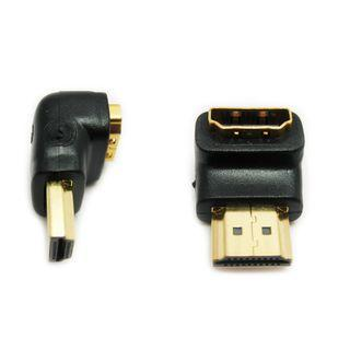 HDMI Male to Female 90 degree Adapter Converter