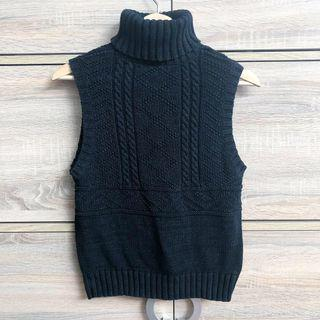 Auth. Ralph Lauren Knitted Sleeveless Top