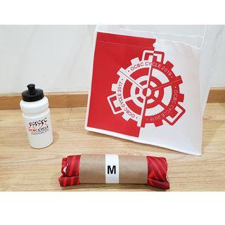 (New) OCBC Cycle 2019 M Jersey + Bottle + Bag
