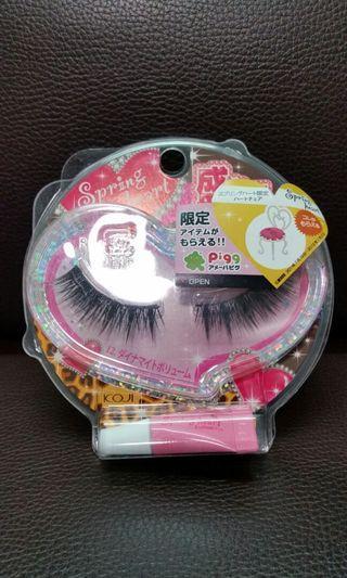 Flash eyelashes ( made in Japan )