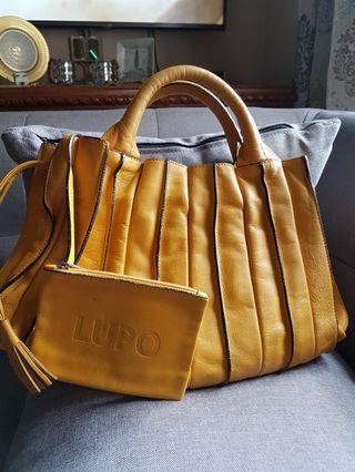 Lupo handbag leather