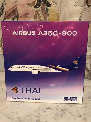 1:400 Phoenix PH Thai Airways A350-900 HS-THG 泰國航空空中巴士A359 飛機模型