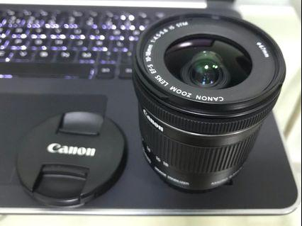 🚚 canon zoom lens ef-s 10-18mm IS STM