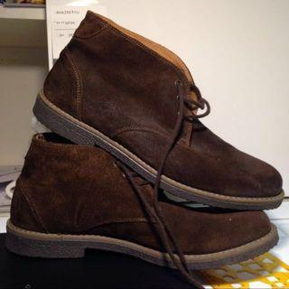 Italian Leather Suede shoes