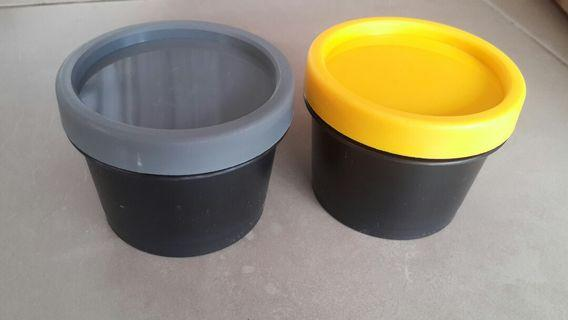 Jual POT CREAM IMPORT 50gram (Kuning & Abu2)