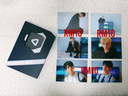 [WTS] SEVENTEEN KIHNO ALBUM PHOTOCARDS (BEFORE DAWN)