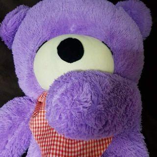 大型熊娃娃 (約 120 cm 左右) 原價1600