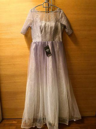Purple princess dress #GayaRaya