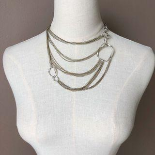 Kenneth Cole Trendy Chain Layers Necklace