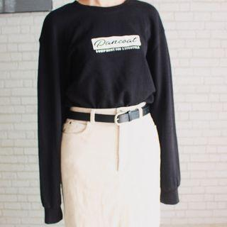 Pancoat Black Sweater