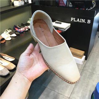 韓國拼接鞋