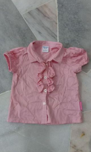 Baby Kiko Kids Ruffle Top/Blouse
