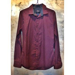 Cotton On Easy Care Slim Fit Long Sleeve Shirt T-Shirt