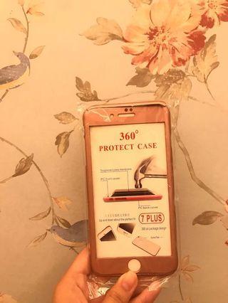 Full Case 360 iPhone 7 Plus + tempered glass
