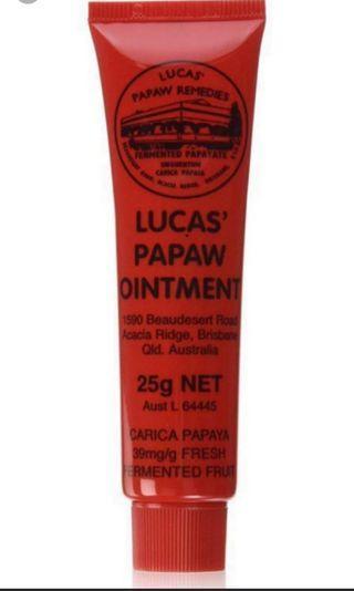 澳洲木瓜霜Lucas' Papaw Ointment 25g