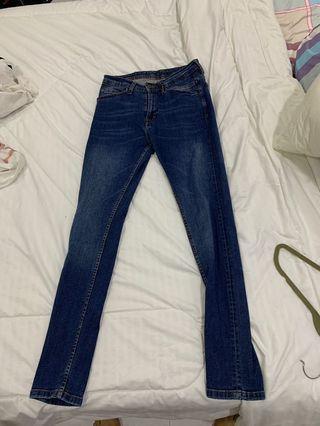 mens zara denim skinny jeans
