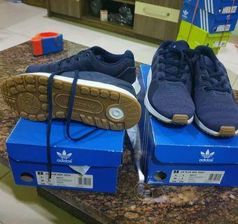 #Mauthr Adidas Original Adidas Zx Flux Tech Navy