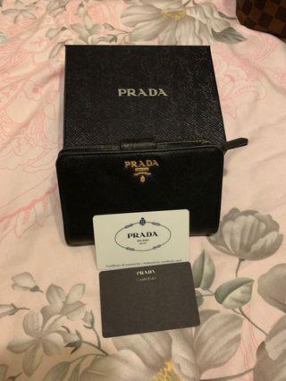 Prada French wallet