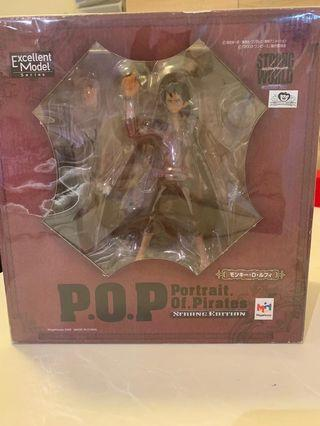 One piece figure P.O.P portrait of pirates strong edition Mikey D. Luffy