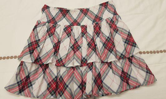 🚚 H&M Checkered Skirt 13 to 14 Years Old