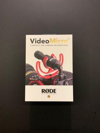 🚚 RODE MICRO VideoMicro Microphone