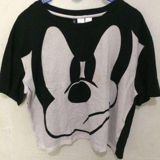 PRELOVED‼️H&M MICKEY TOP