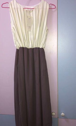 🚚 東京著衣條紋洋裝裙
