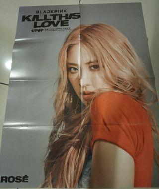 Blackpink Kill This Love posters
