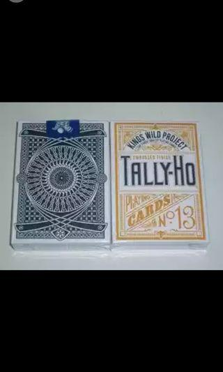 Tally Ho Playing Card (KINGS WILD)