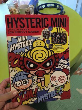 Hysteric mini 2018雜誌連特大購物袋