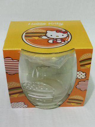 McDonald's Hello Kitty glass cup