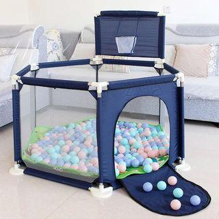 [BRAND NEW] Width Base Hexagon Playpen (Comes with hood)