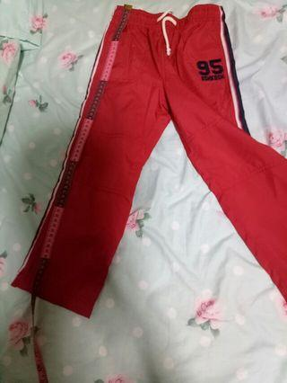 Sweatpants for kids - red